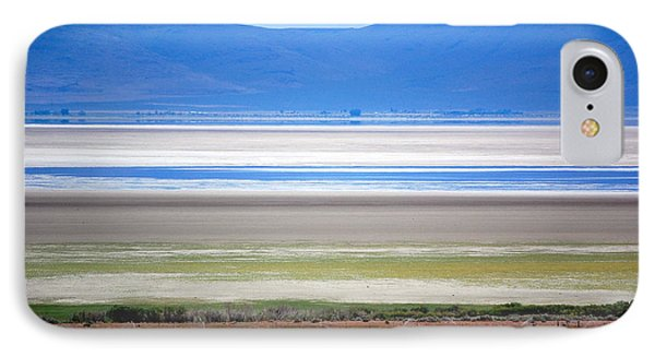 IPhone Case featuring the photograph Striations At Honey Lake by AJ  Schibig