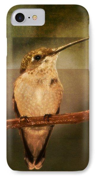 Strike A Hummingbird Pose IPhone Case
