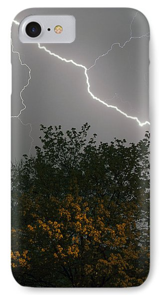 IPhone Case featuring the photograph Strike by Timothy McIntyre