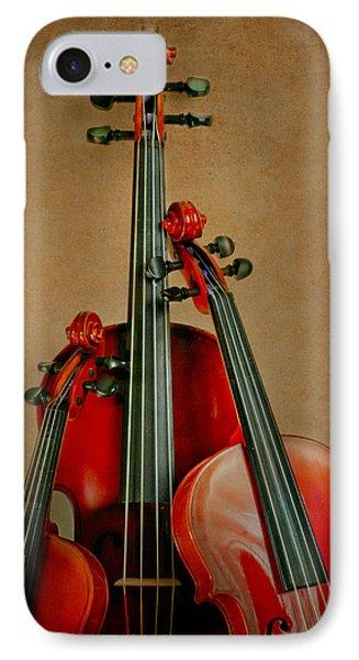 Stringed Trio Phone Case by David and Carol Kelly