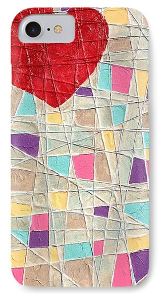 Strings To My Heart  IPhone Case by Isaac Alcantar