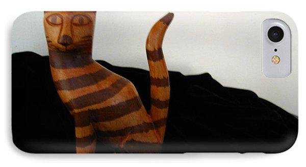 Striped Cat IPhone Case