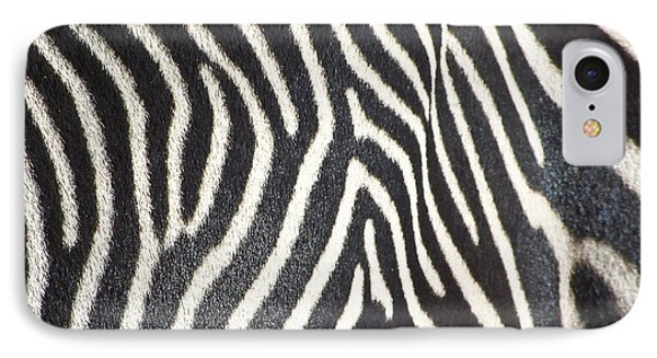 Stripes And Ripples IPhone Case by Kathy McClure