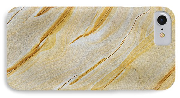Stripes In Stone IPhone Case by Tim Gainey