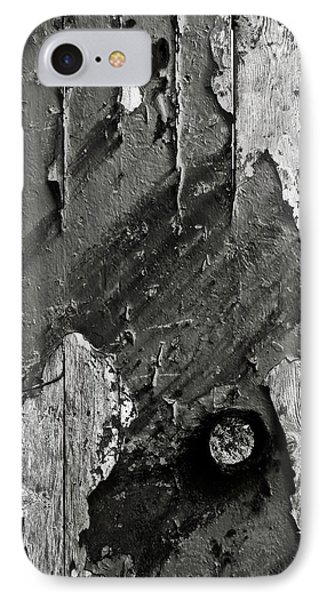 Stripping Hull Of An Old Abandoned Ship IPhone Case