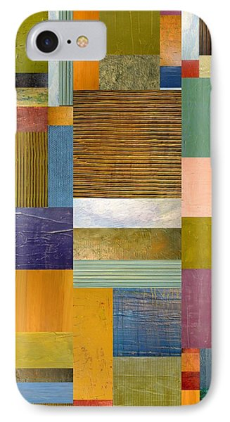 Strips And Pieces Lv Phone Case by Michelle Calkins