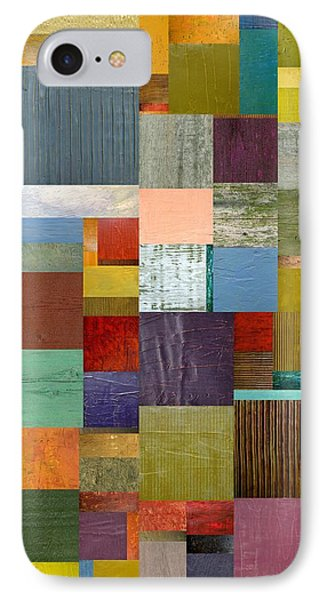 Strips And Pieces Vl Phone Case by Michelle Calkins