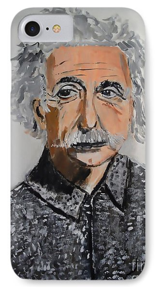IPhone Case featuring the painting Stroke Of Genius by Judy Kay