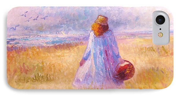 Stroll By The Sea Phone Case by Martha Sterling