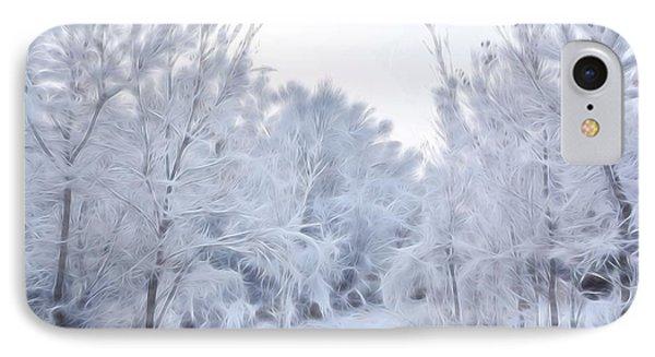 Stroll Through A Winter Wonderland IPhone Case