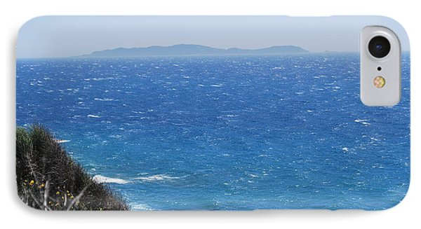 IPhone Case featuring the photograph Strong Mistral by George Katechis