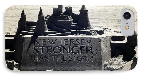 Stronger Than The Storm Phone Case by John Rizzuto