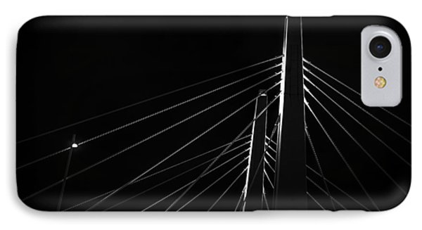 Structure In The Shadows Phone Case by CJ Schmit