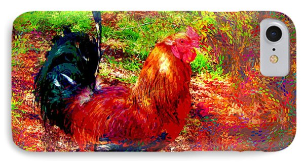 Strutting In Living Color IPhone Case by Joyce Dickens