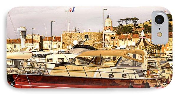 Saint-tropez Harbor IPhone Case by Elena Elisseeva