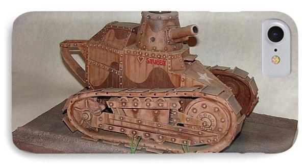 Stubby's Tank Phone Case by Stuart Swartz