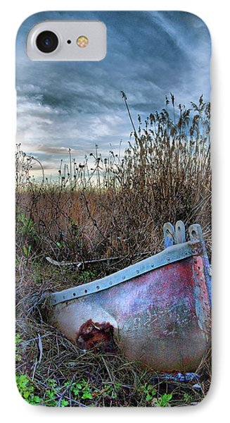 Stuck In The Marsh Phone Case by Michael  Ayers