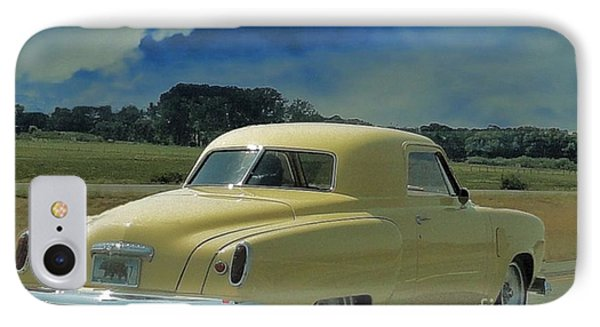Studebaker Starlight Coupe IPhone Case by Janette Boyd