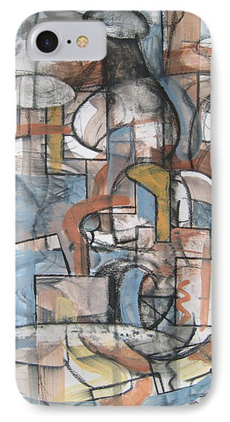 Studio Synthesis IPhone Case by Clyde Semler
