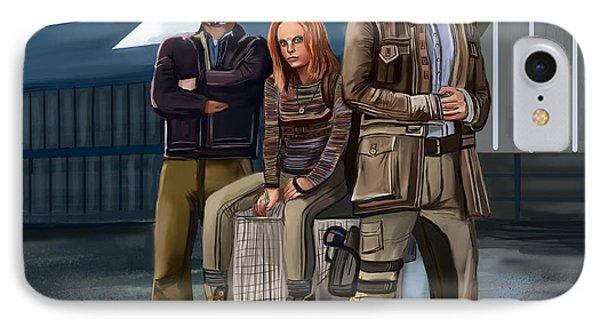 IPhone Case featuring the digital art Study by Bogdan Floridana Oana