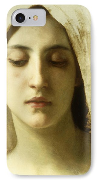 Study For La Charite IPhone Case by William-Adolphe Bouguereau