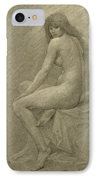 Study For Lilith IPhone Case by Robert Fowler