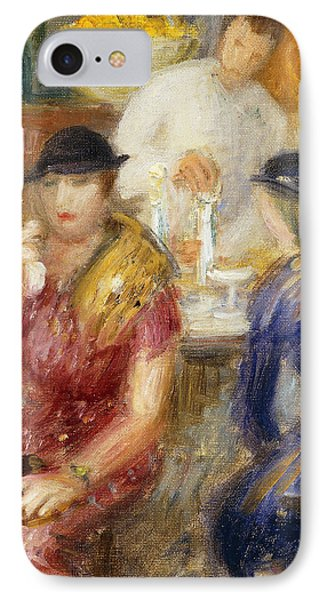 Study For The Soda Fountain IPhone Case by William James Glackens