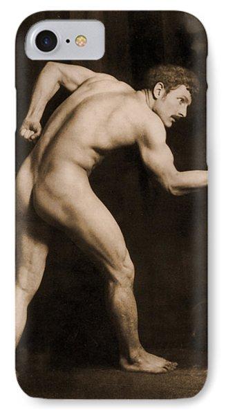 Study Of A Male Nude Phone Case by Wilhelm von Gloeden
