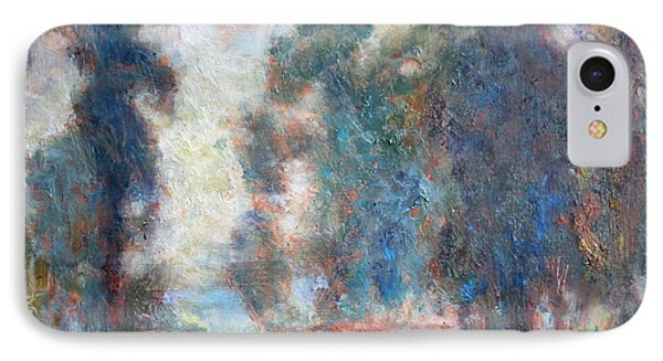Study Of An Impressionist Master IPhone Case