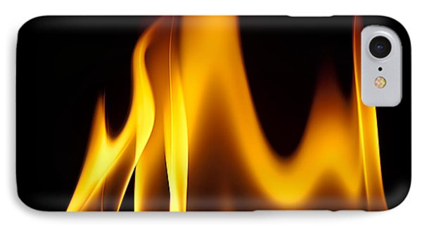 Study Of Flames I IPhone Case by Patrick Boening