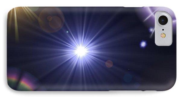 Study Of Light Phone Case by Steve Hermann