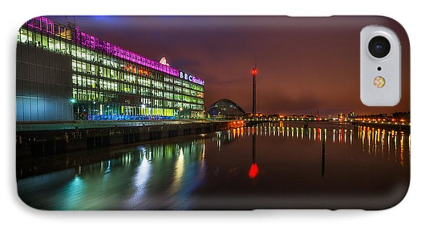Stunning Bbc Scotland In Glasgow Phone Case by John Farnan