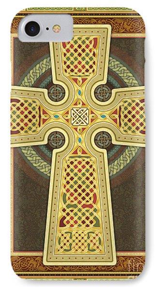 Stylized Celtic Cross IPhone Case