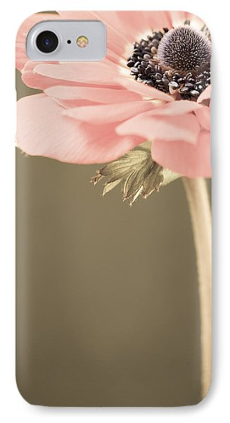 Subdued Anemone Phone Case by Caitlyn  Grasso