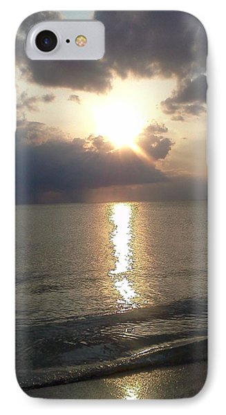Subdued Sunset 2 IPhone Case by K Simmons Luna