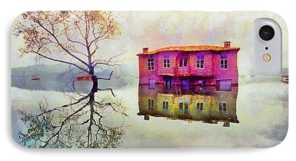 Submerged Reflections Phone Case by George Rossidis