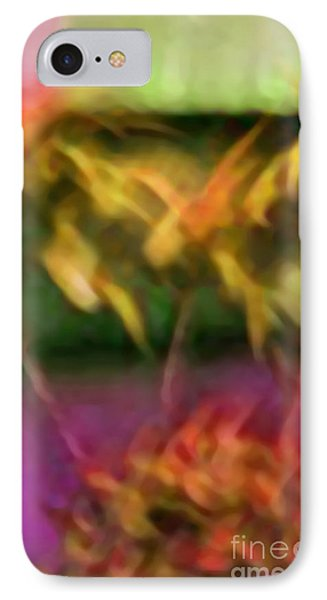 IPhone Case featuring the mixed media Substance by Gayle Price Thomas