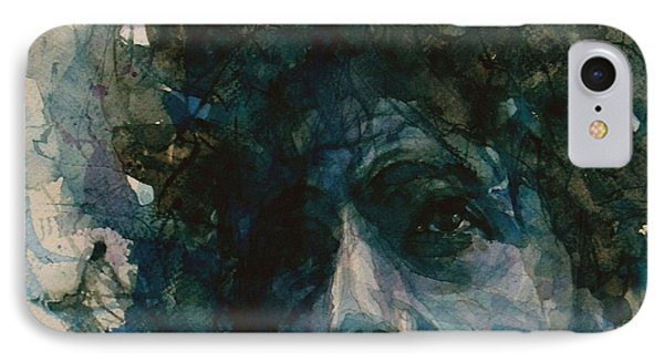 Subterranean Homesick Blues  IPhone 7 Case by Paul Lovering