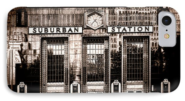 Suburban Station IPhone 7 Case by Olivier Le Queinec