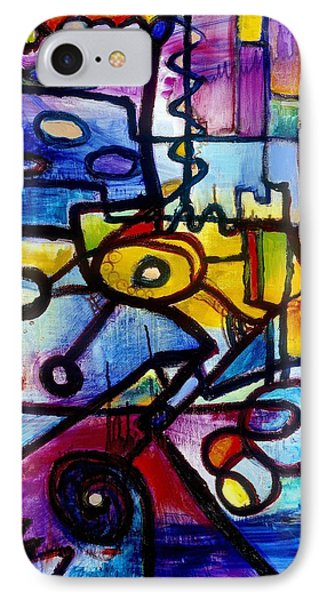 Suburbias Daily Beat IPhone Case by Regina Valluzzi