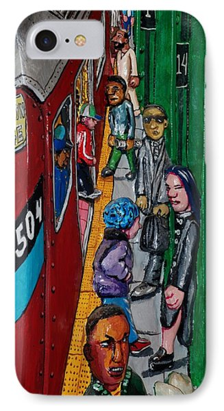 Subway 1 Phone Case by Rob Hans