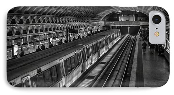 Subway Train IPhone Case by Lynn Palmer