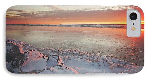 Subzero Sunrise IPhone Case by Carrie Ann Grippo-Pike