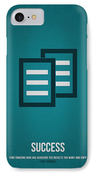 Success IPhone Case by Aged Pixel