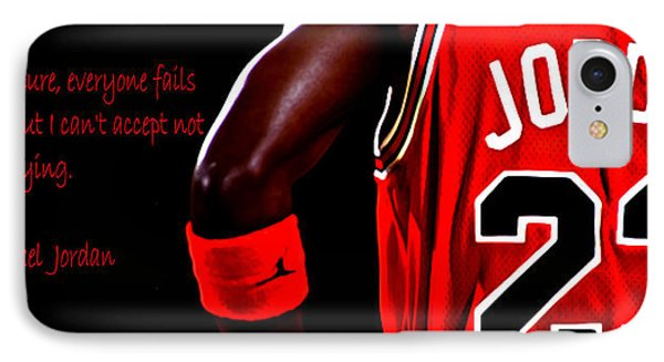 IPhone Case featuring the digital art Success Quote 2 by Brian Reaves