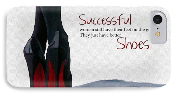 Successful Woman IPhone Case by Rebecca Jenkins
