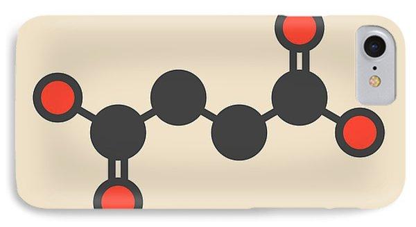 Succinic Acid Molecule IPhone Case by Molekuul