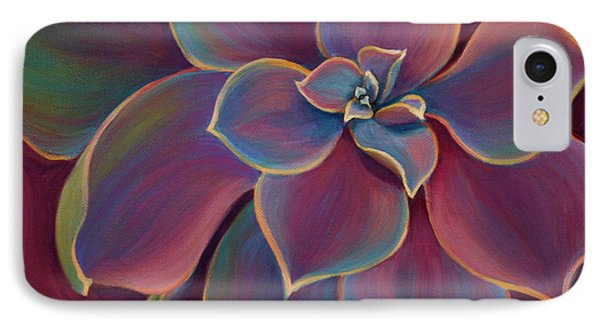 IPhone Case featuring the painting Succulent Delicacy by Sandi Whetzel