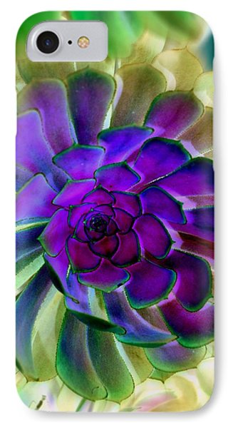 Succulent Transformation IPhone Case by Antonia Citrino