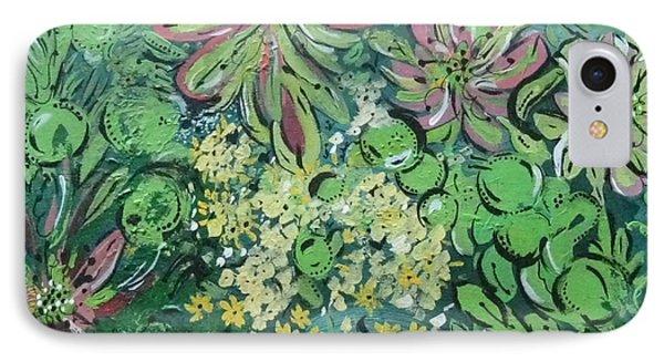 Succulents At Alcatraz IPhone Case by Jamie Scott